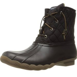 SPERRY SALTWATER QUILTED DUCK BOOT